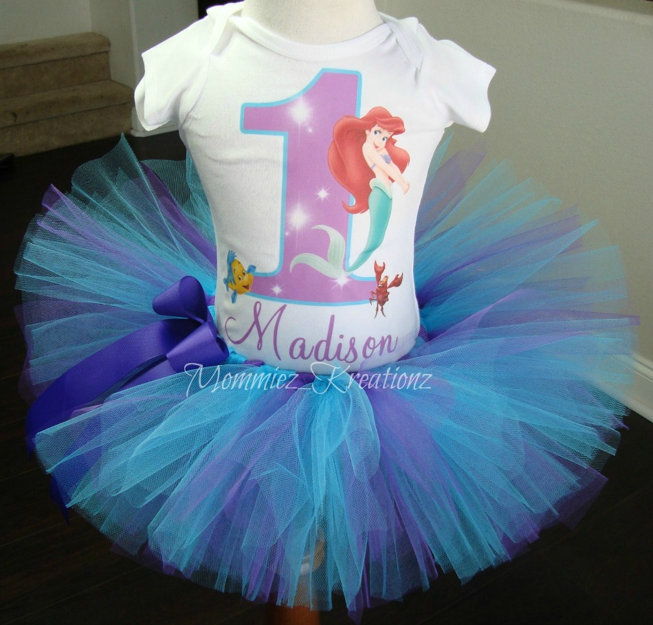 The Little Mermaid Tutu Set #2