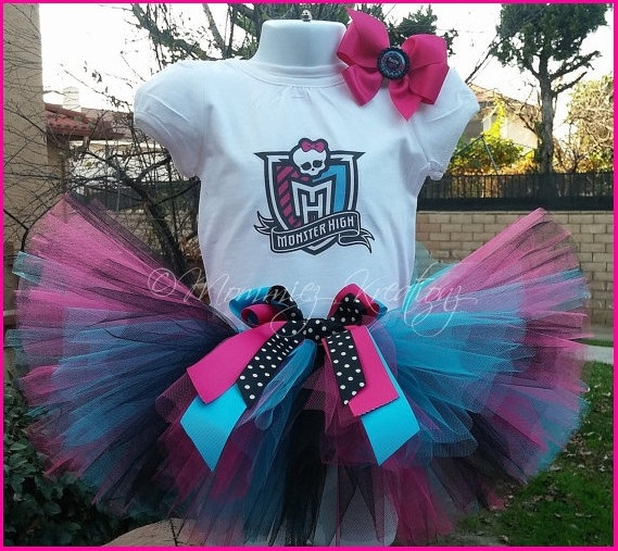 Monster High Inspired Tutu Outfit